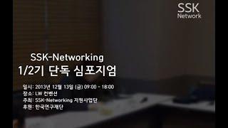 13-14 제2차 SSK 네트워킹 통합 심포지엄 기록
