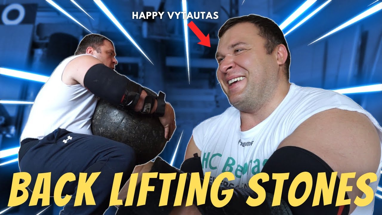 Download Vytautas Lalas Atlas Stone Training    *FIRST STONE IN MONTHS*