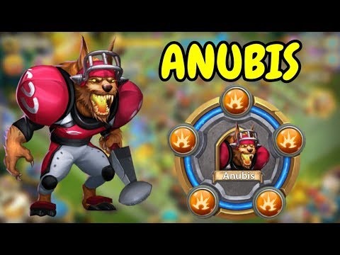 Max Breakthrough Anubis In Action L Castle Clash