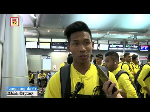Skuad kebangsaan berlepas ke Hanoi, Vietnam untuk aksi final kedua