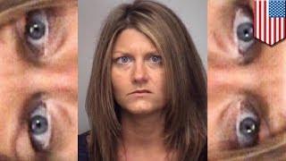 Учительница рассылает пикантные селфи своим студентам(34-летняя Карон Влэнтон - учительница естествознания средней школы в Северной Каролине, обвиняется в чрезме..., 2014-04-26T10:29:26.000Z)