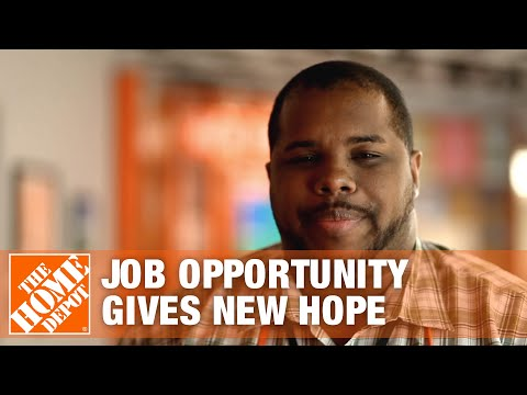 Job Opportunity Gives Associate New Hope – The Home Depot
