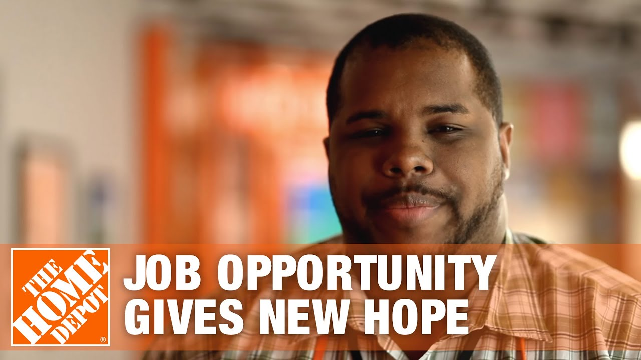 Job Opportunity Gives Associate New Hope The Home Depot