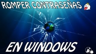 Romper contraseñas de usuario en Windows 8/7/Vista/XP con Hiren