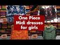 Midi dresses for Girls I Beautiful Kurtis Top Collection I Epi 023 I Nakshatra Stores I 98858 70143
