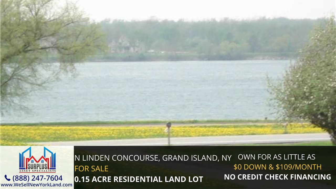 N Linden Concourse Grand Island, NY - Wholesale Land For Sale New York - www.WeSellNewYorkLand.com