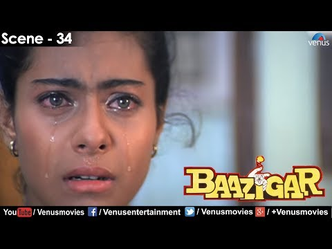 Kajol knows the truth (Baazigar)