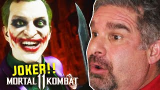 Dad Reacts to Mortal Kombat 11 - The Joker Official Gameplay Trailer!