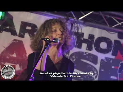 BAREFOOT PLAYS PATTI SMITH - DEAD CITY (BECAUSE 2018)