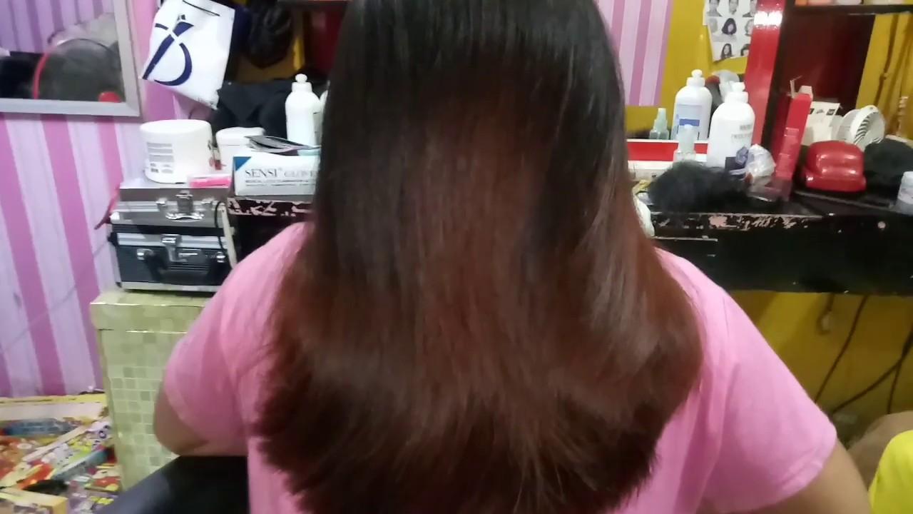 Rambut Ombre || warna rambut bawah || kamera jelek ...
