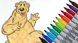 Bear in the Big Blue House Coloring page 2017 New HD Video for Kid