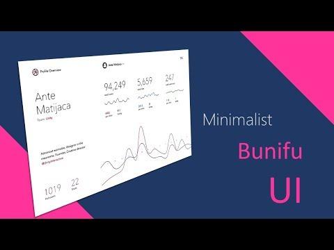 MINIMALISTIC LIGHT FLAT UI IN WINFORMS .NET C#,VB.NET Bunifu UI, BUNIFU DATAVIZ