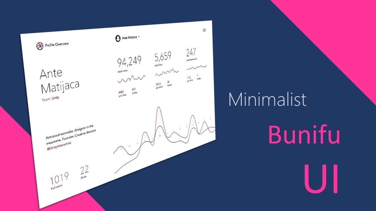 MINIMALISTIC LIGHT FLAT UI IN WINFORMS  NET C#,VB NET Bunifu