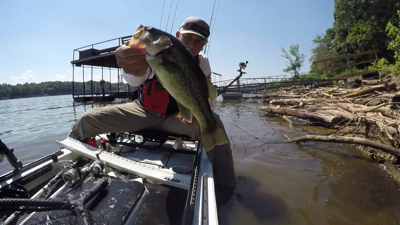 mo yak kayak fishing series lake pomme de terre quick