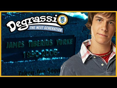 JT Yorke Died On Degrassi 12 Years Ago Today.