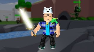 ROBLOX: I BECAME A WARRIOR WITH THE SWORD OF LIGHT!! -Play Old man