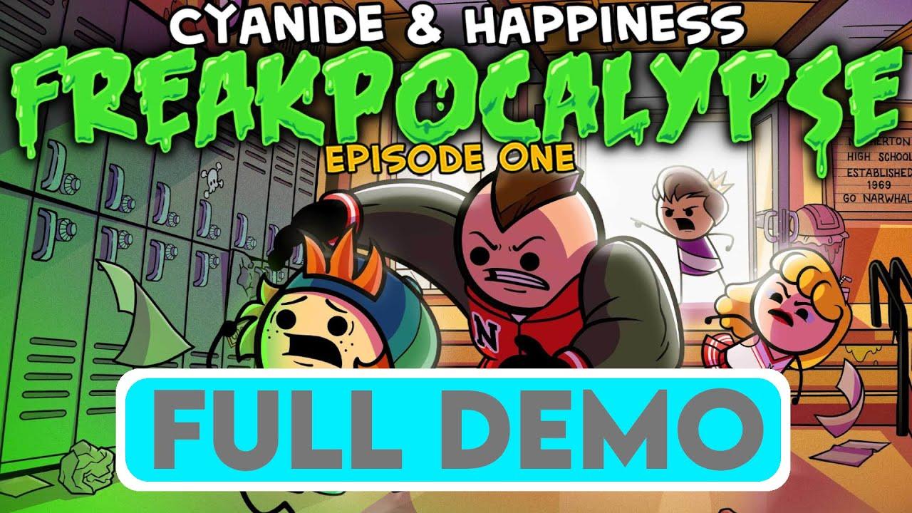 CYANIDE & HAPPINESS - FREAKPOCALYPSE - FULL DEMO - Gameplay Walkthrough - No Commentary