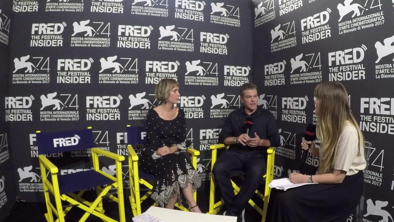 Download Matt Damon and Kristen Wiig - DOWNSIZING - 74 Venice Film Festival
