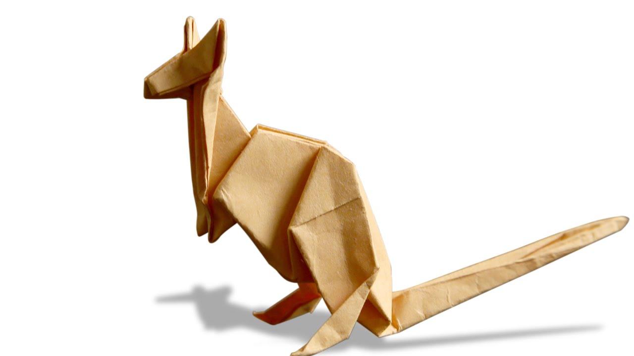 3D Origami Kangaroo | DIY | Learn Origami | How To Make Easy Origami  Kangaroo