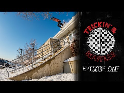 Trickin' and Waffles Episode 1: Wrecking Sleds and Japan Powder With the Vans LANDLINE. Crew