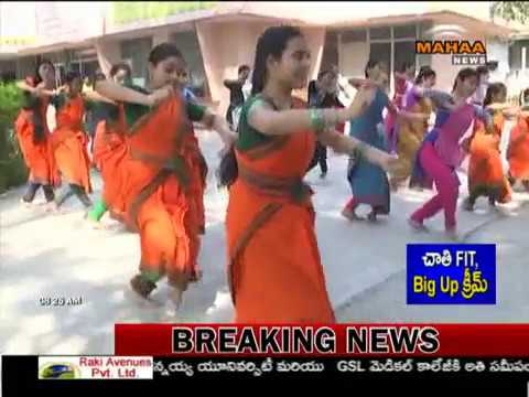 Classical Dance Classes in Srikakulam | Bharatnatyam and Kuchipudi | Mahaa News