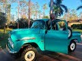 SOLD! 1959 Chevrolet Apache 31 Napco 4x4, for sale by Autohaus of Naples 239-263-8500