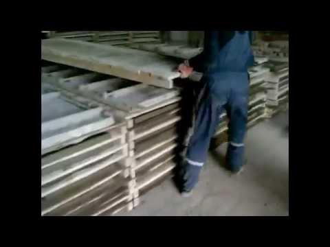 Технология изготовления декоративных бетонных панелей для забора