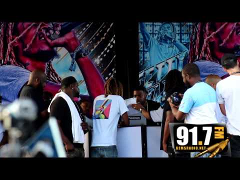 Gems Radio . 2015      Fetty Wap Free back to school concert in Paterson NJ