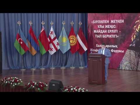 видео: Арман Гукасян: Я хочу, чтобы наши народы не делили Победу, так же как и наши деды на поле боя.