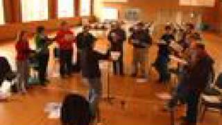 Cappella Romana rehearses CYPRUS