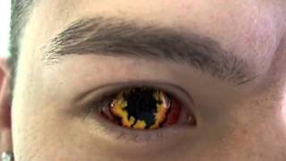 Необычные глаза