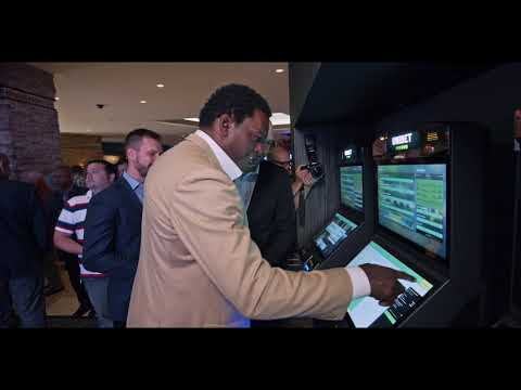 Unibet Sportsbook At Mohegan Sun Pocono Grand Opening With LaVar Arrington