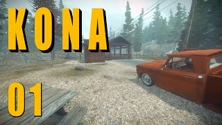 KONA [001] [Irgendwo in Kanada] Let's Play Gameplay Deutsch German thumbnail