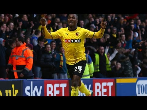 Odion ighalo - Amazing Goals Skills & Assists - Watford 2015/16