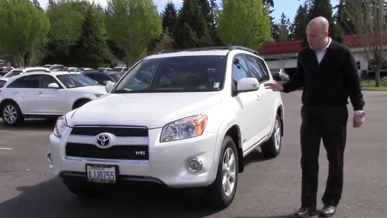 2012 Toyota Rav4 V6 Limited Review   A Quick Look At The 2012 Toyota Rav4  Limited   YouTube