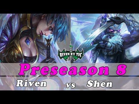 [ Levo ] Riven vs Shen [ ON THE GEAR Bois ] Top - Best Riven Plays - Master Riven Main
