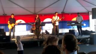 Serbian band at Serbian festival in Cambridge 2012