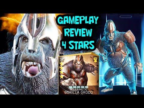 injustice 2 Mobile. Unlocking Telekinetic Gorilla Grodd 4-STARS. Gameplay, Review. I'M SO HAPPY!