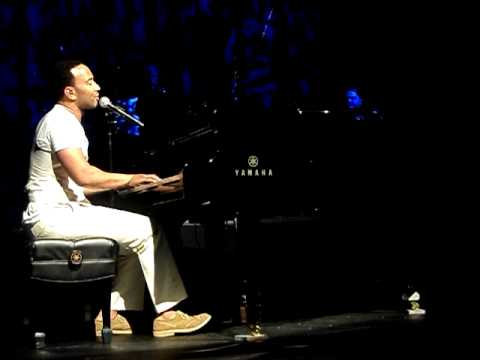 John Legend - Dreams (NEW) - LIVE (with lyrics)