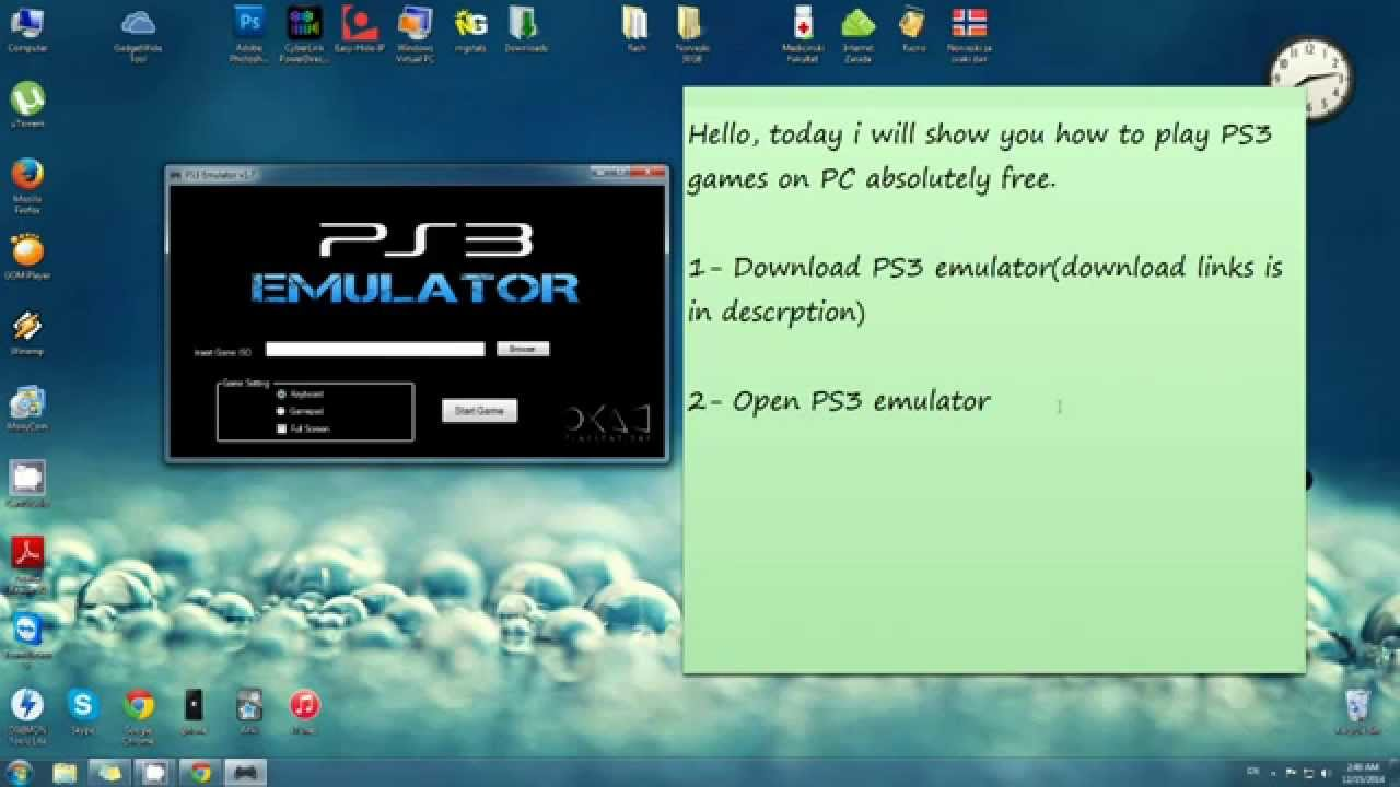 Ps3 How Emulators On To Put