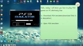 Repeat youtube video How to play PS3 Game on PC - PS3 Emulator - Free download