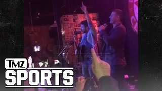 Anthony Rizzo & Brett Eldredge Sing 'Go Cubs Go' | TMZ Sports