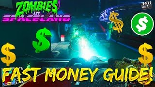 How To Earn Money/Points FAST in Zombies In Spaceland! - Infinite Warfare Zombies Strategy!