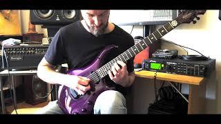 Dream Theater -Scarred (guitar solo cover)