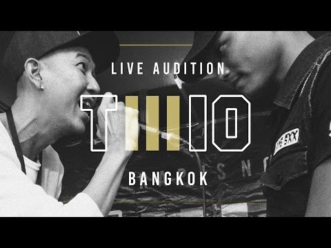 TWIO3 : LIVE AUDITION STAGE#5 (BANGKOK) | RAP IS NOW
