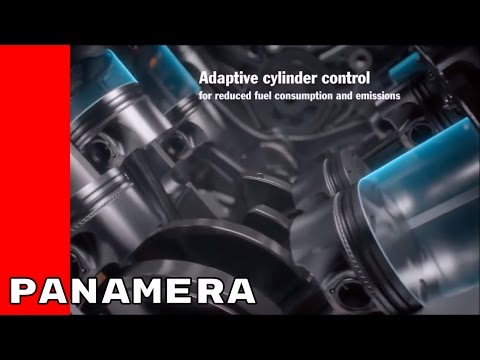 2017 Porsche Panamera Engine and Transmission Animation
