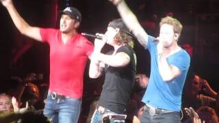 "Luke Bryan Milwaukee Summerfest 2014 ""This is How We Roll"""