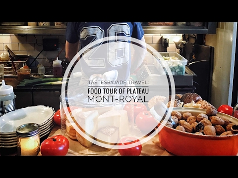 Food Tour through Plateau Mont Royal In Montreal