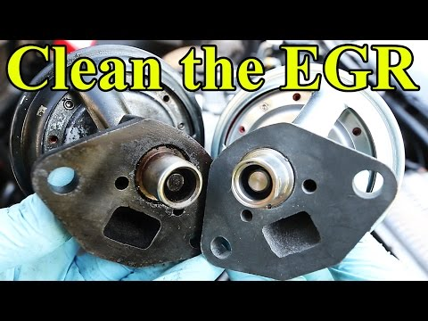 How to Clean and Replace an EGR Valve P0400