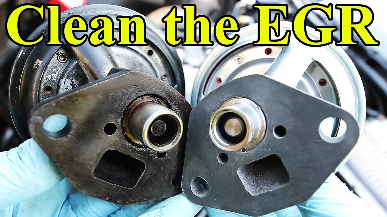 hight resolution of how to clean and replace an egr valve p0400